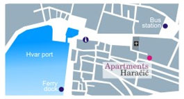 Location of apartments
